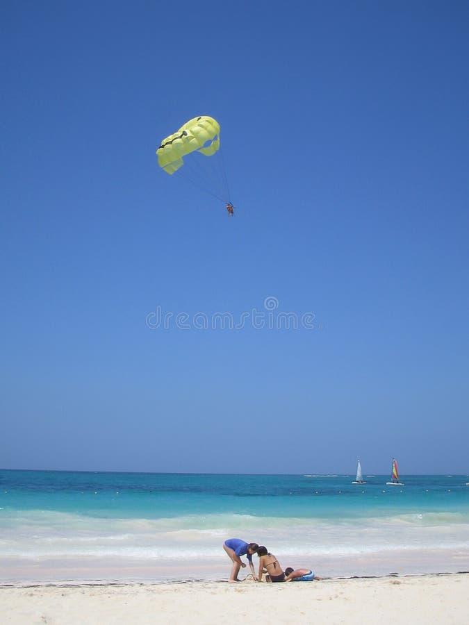海滩加勒比热带 免版税库存图片