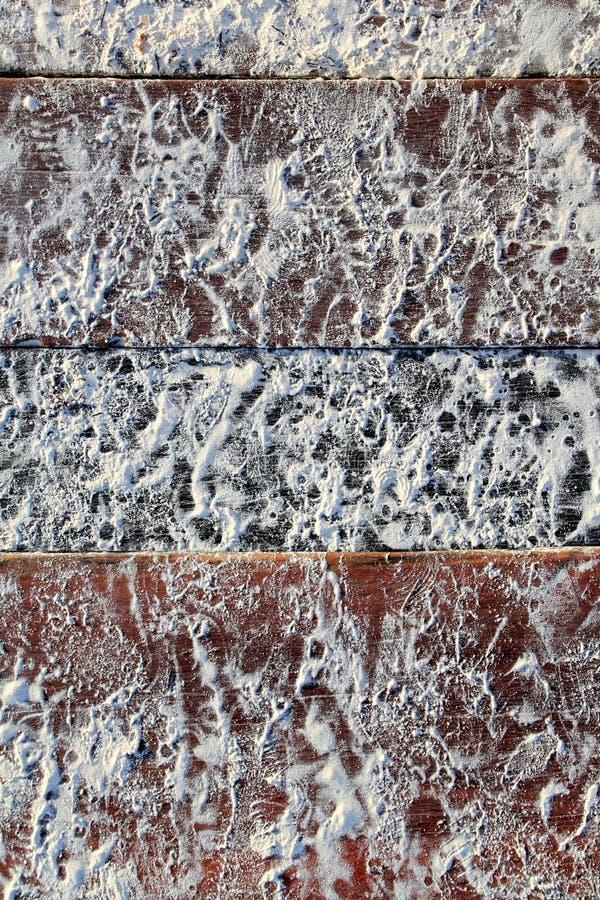海滩加勒比码头沙子土壤白色木头 库存图片