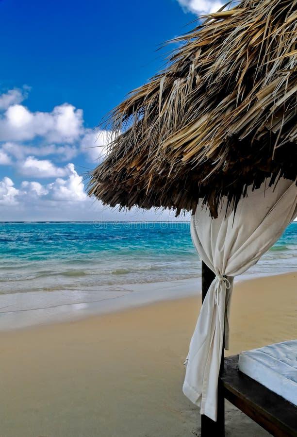 海滩加勒比 免版税库存照片