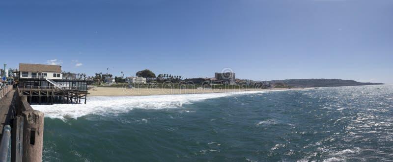 海滩加州城市redondo 免版税库存图片