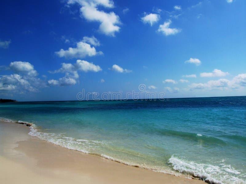 海滩原始海岸线 库存照片