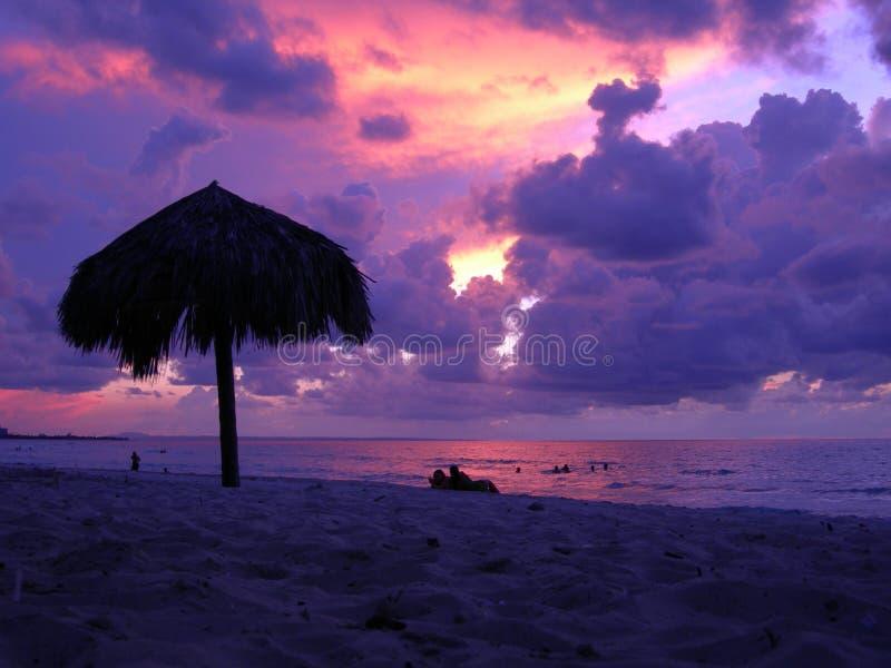 海滩古巴 免版税图库摄影