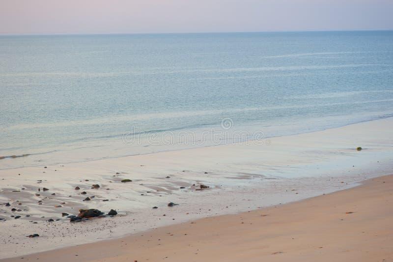 海滩和谐海洋 免版税库存图片