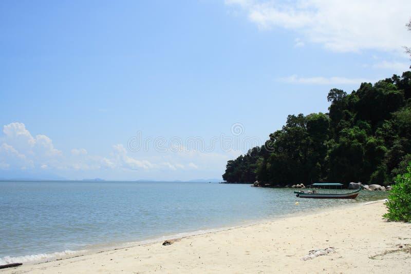 海滩国家公园槟榔岛 免版税库存照片