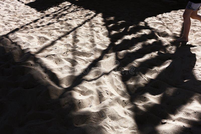 海滩在傲德萨 库存照片