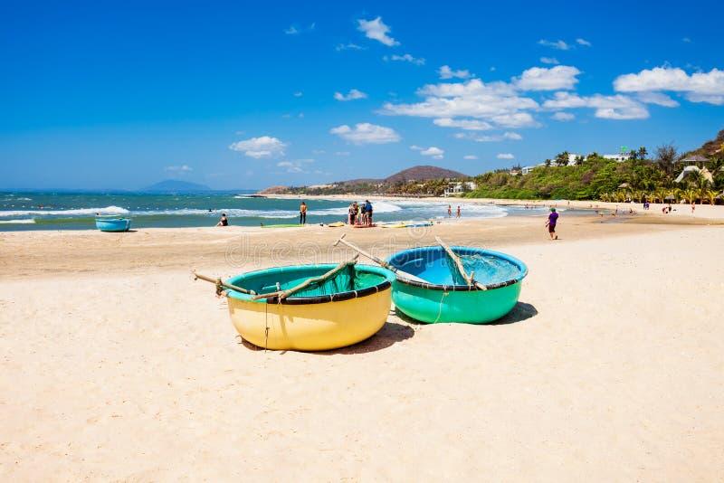 海滩在美奈,越南 库存图片