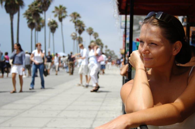 海滩威尼斯 免版税库存照片