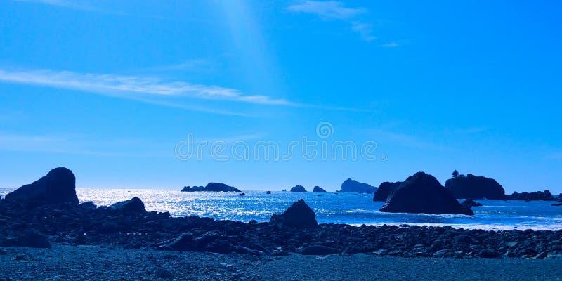 海滩小卵石 免版税图库摄影