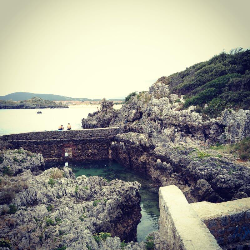 海滩小径码头海运 图库摄影