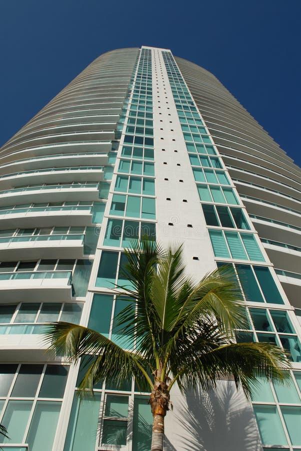海滩居住的迈阿密 库存照片