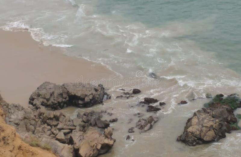 海滩拉古纳 库存照片