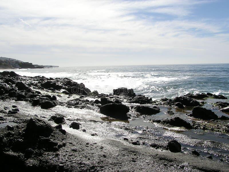 海滩拉古纳 库存图片