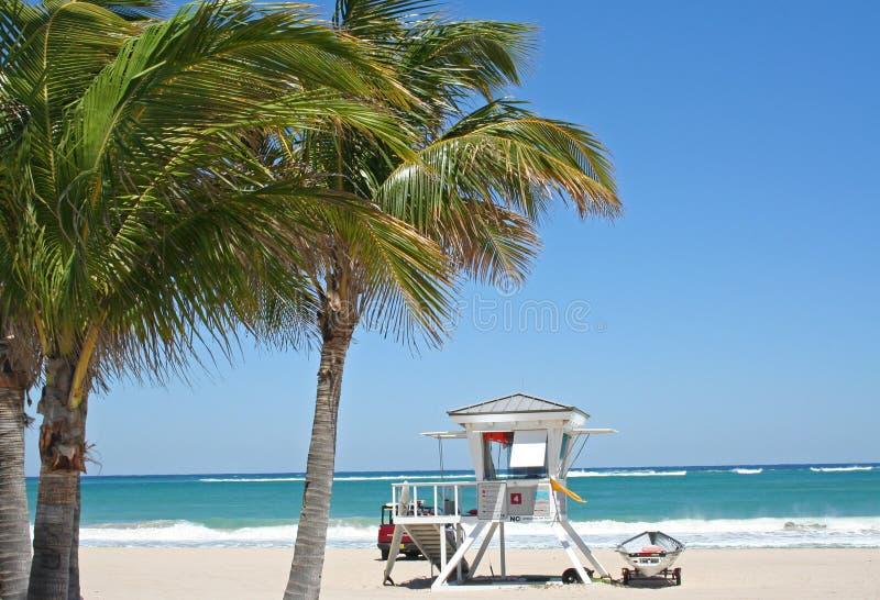 海滩救生员塔