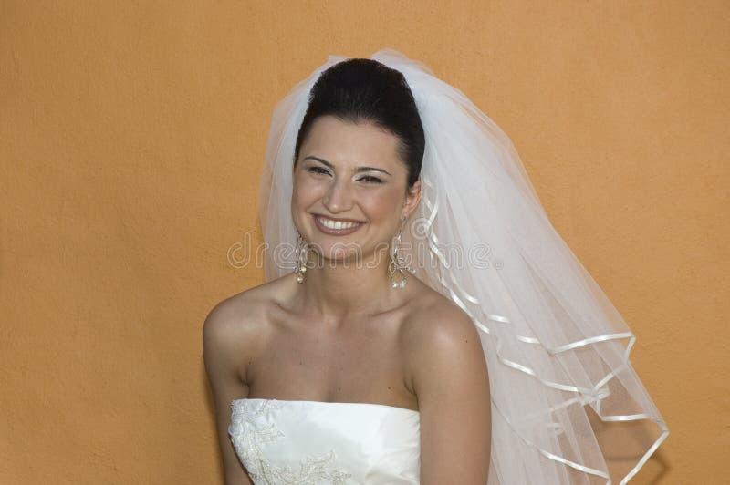 海滩新娘加勒比摆在的婚礼 图库摄影