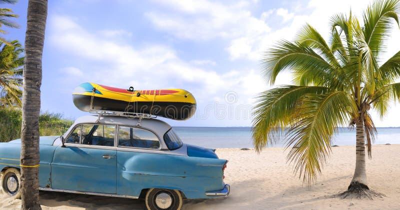 海滩旅行 免版税库存照片