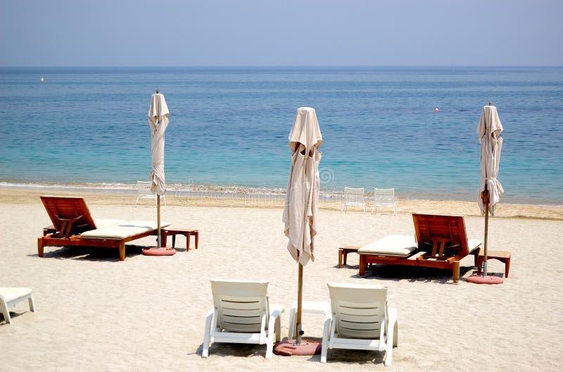 海滩旅馆豪华 免版税图库摄影