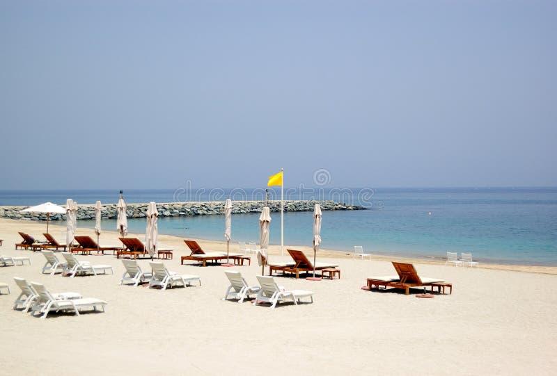 海滩旅馆豪华 免版税库存图片