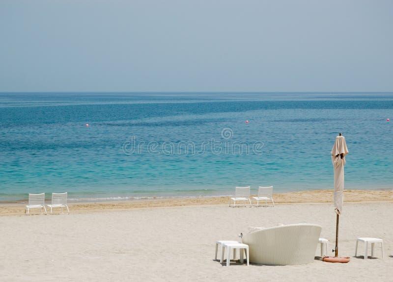 海滩旅馆豪华 免版税库存照片