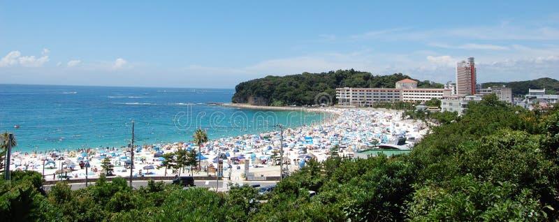 海滩日本shirahama和歌山 免版税库存照片
