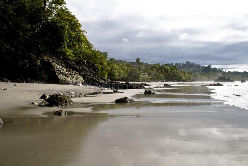 海滩格斯达里加岸 免版税库存图片