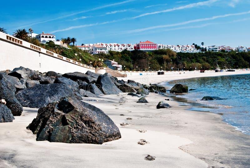海滩正弦 免版税库存图片