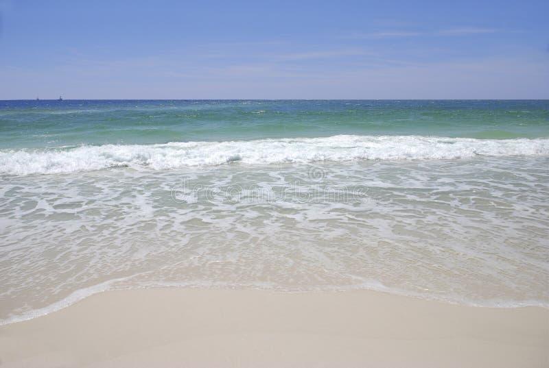海滩水晶 库存照片