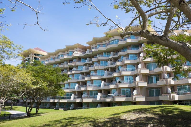 海滩热带汶莱的手段 免版税图库摄影