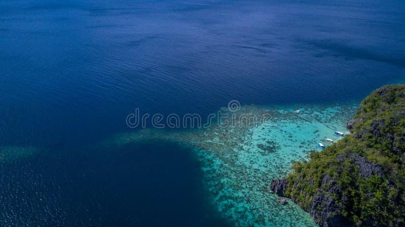 海滩热带菲律宾亚洲 图库摄影