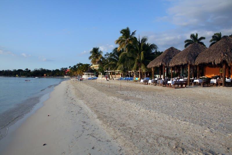 海滩牙买加手段 免版税库存图片