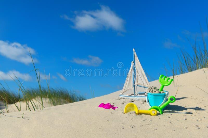 海滩玩具 库存照片