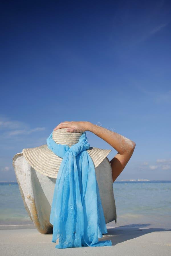 海滩生活 图库摄影