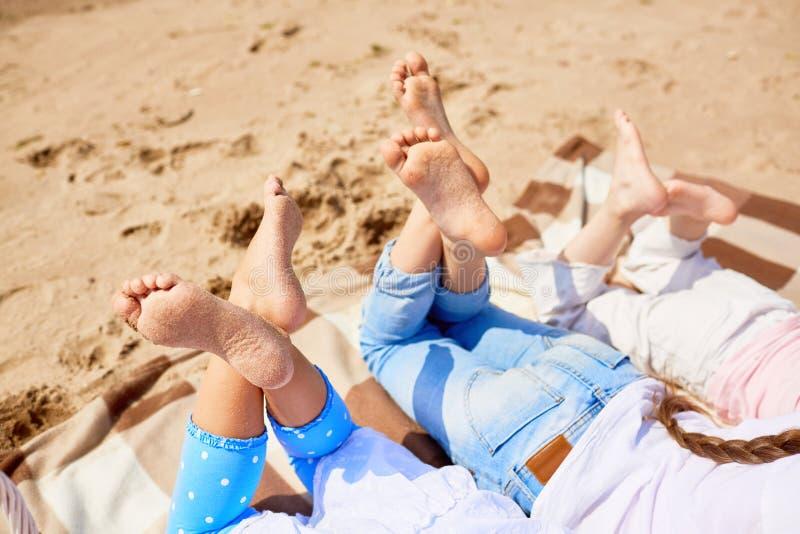 海滩的基于 图库摄影