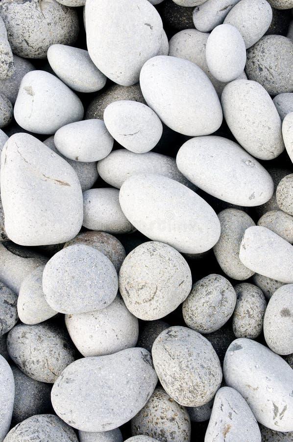 海滩石头 免版税图库摄影