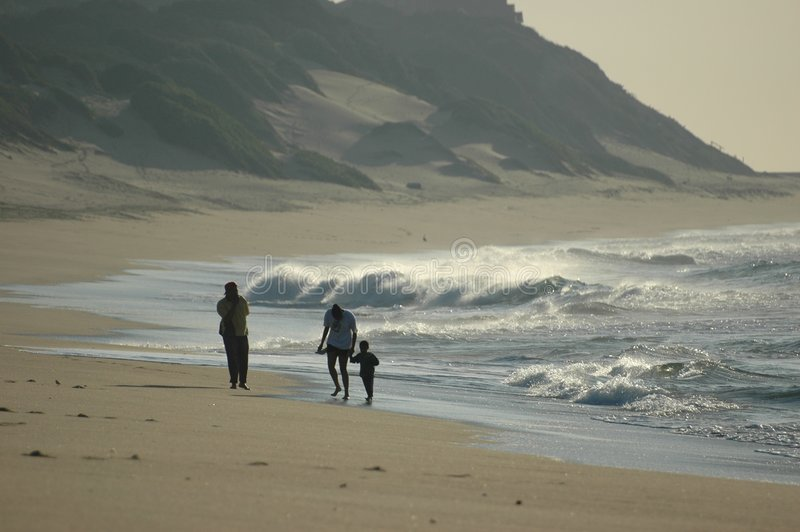 海滩系列 免版税图库摄影