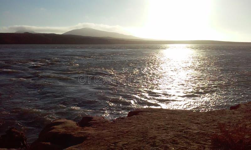海滩老温和,墨西哥城 免版税库存照片