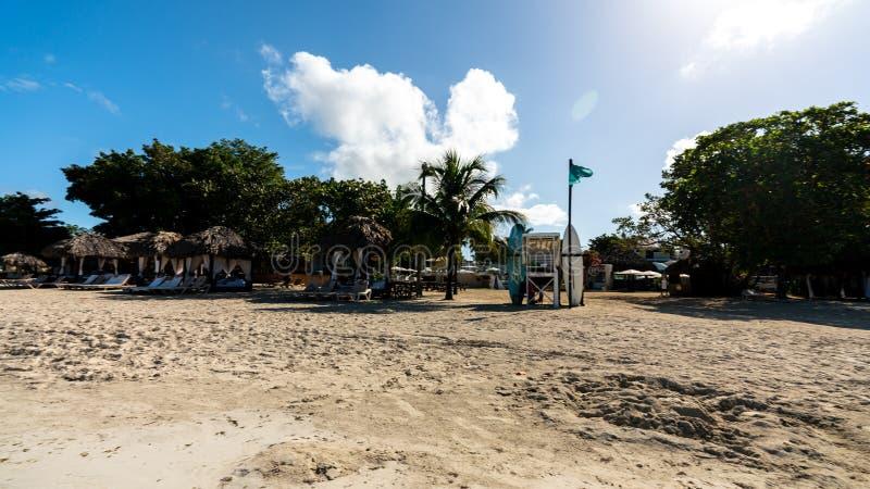 海滩胜地内格里尔牙买加 库存图片