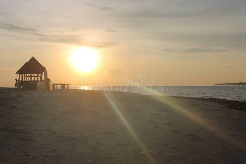 海滩胜地 图库摄影