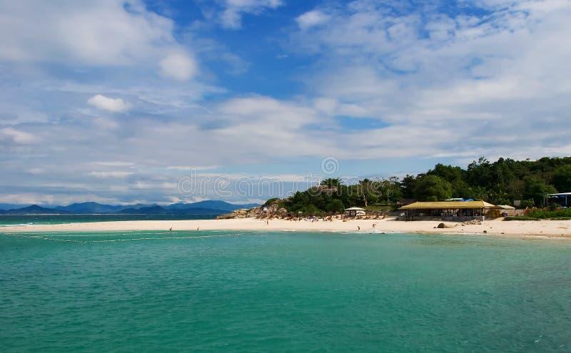 海滩萨尼亚 库存照片