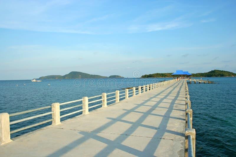 海滩跳船普吉岛rawai泰国 库存图片