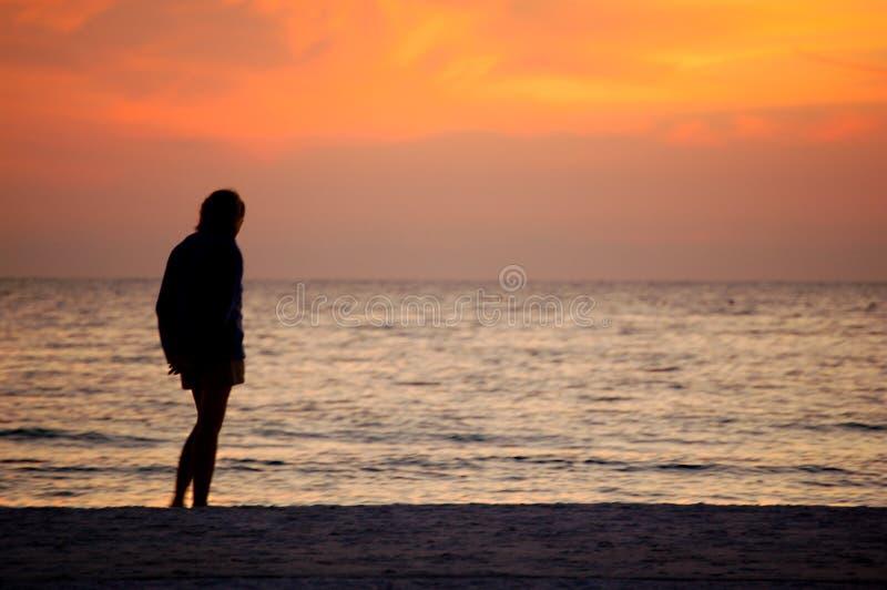 海滩身分 库存照片