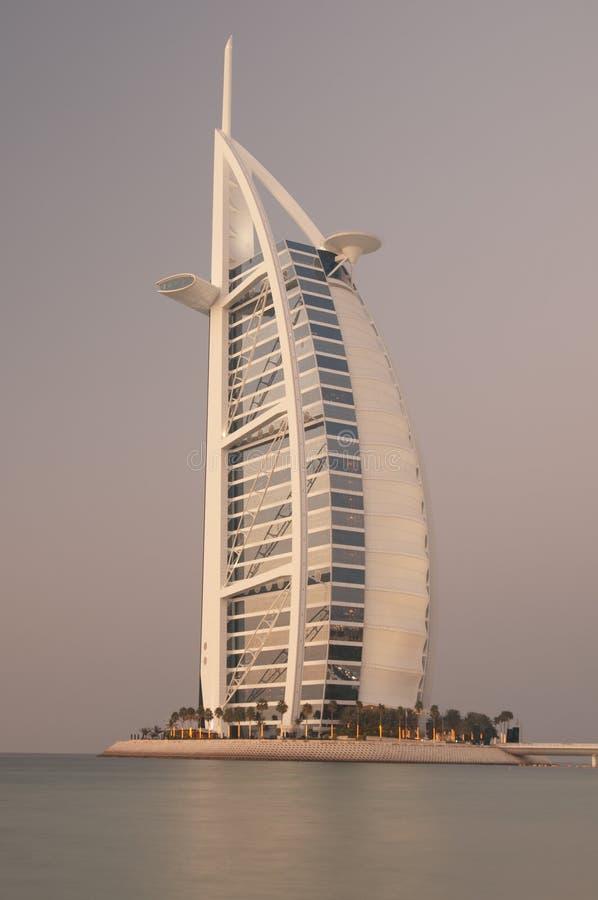 海滩迪拜阿拉伯联合酋长国 库存照片