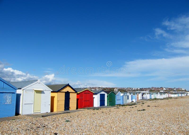 海滩颜色 图库摄影