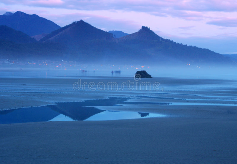 海滩鬼魂 库存照片