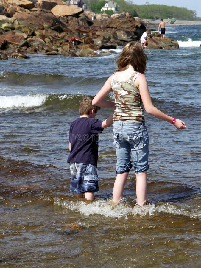 海滩 免版税图库摄影