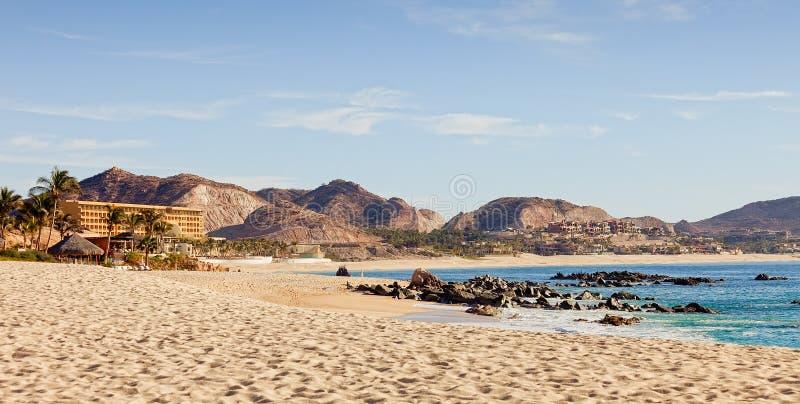 海滩cabo卢卡斯圣 免版税库存图片