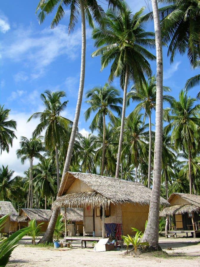 海滩chang海岛热带的泰国 库存照片