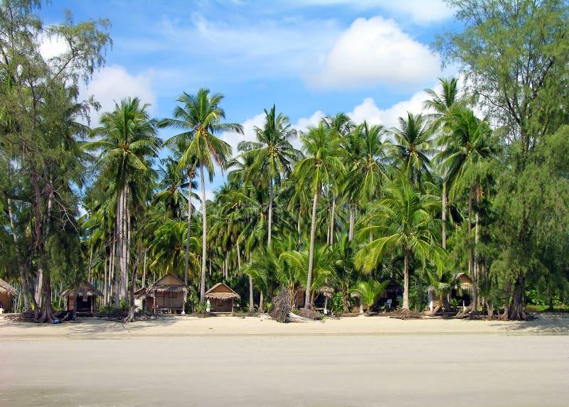 海滩chang海岛热带的泰国 免版税库存图片