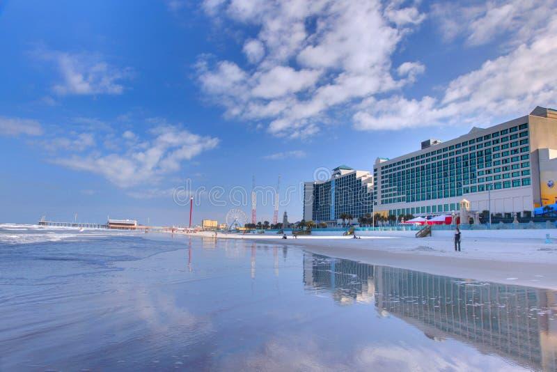 海滩daytona 免版税库存图片