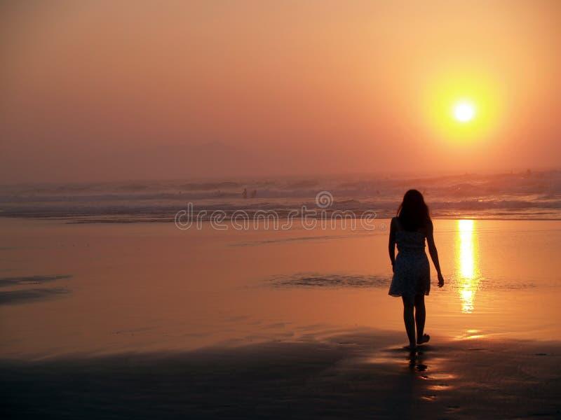 海滩iii sopelana 免版税库存图片