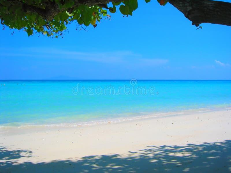 海滩iv天堂泰国 库存图片